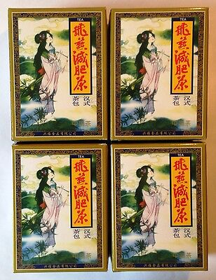 4x Gaoshan Oolong Fei Yan Feiyan Tea Diet Slimming 80 Teabags Authentic Shizhen