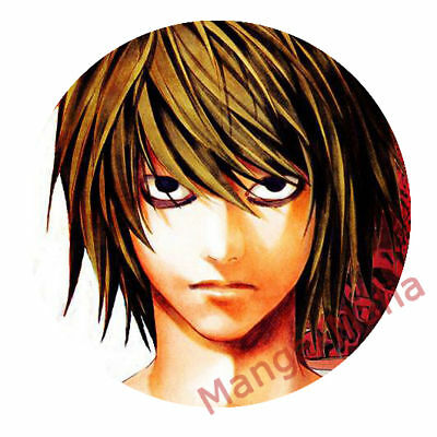 Death Note Button / Badge / Pin Light Yagami (Anime Manga)