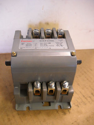 Furnas Magnetic Contactor 40EP32AA 3PH 15HP 600 VAC Size Sz 1-3/4 240V Coil 40A