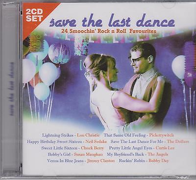 SAVE THE LAST DANCE - 24 SMOOCHIN' FAVOURITES 2 CD's -