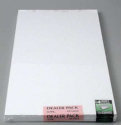 NEW Woodland Scenics Foam Sheet 1/4 x1 x2  (4) ST1422