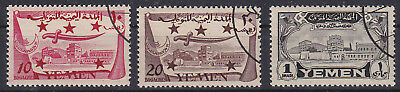 YEMEN NORTH 1947 - UNISSUED complete set I - III used !