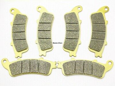 Front Rear Brake Pads For Honda GL 1800 A ABS Goldwing