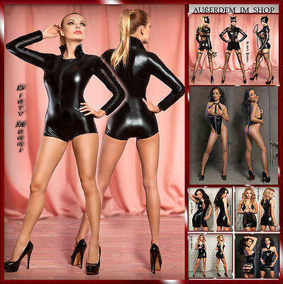 Sexy Body, Catsuit GOGO Wetlook Clubwear Gr. XS S