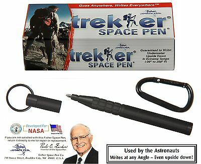 Fisher Space Pens #725B / Black Trekker  / Gift Boxed