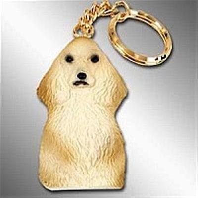Cocker Blonde Non-Breakable Key Ring Free Items a4u