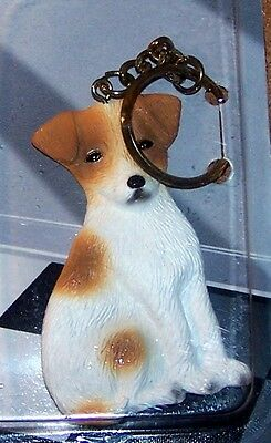 Jack Russell Non-Breakable Key Ring Free Items a4u