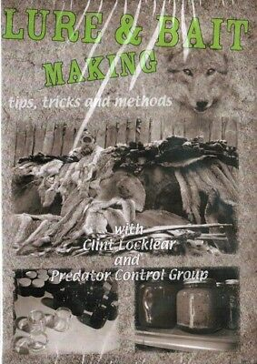 DVD, Locklear Lure & Bait Making, traps, trapping