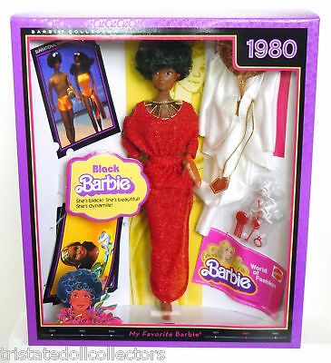 1980 BLACK BARBIE~(AA) Steffie Vintage MY FAVORITE Repro Barbie_C9_R4468_NRFB