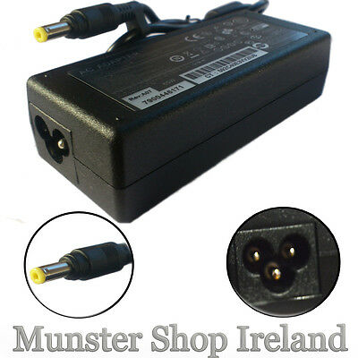 Ac Adapter Charger For Hp 500 510 520 530 550  Laptop 18.5V Power Supply 65W