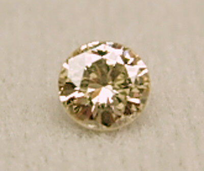 0.65+Ct 1 Polished Champagne ROUGH Natural DIAMONDS Gem