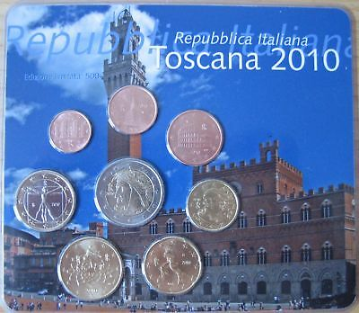 """Mds Italien Euro-Kms 2010 """"toscana""""  Im Blister"""