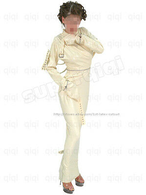 Latex/Rubber 0.8mm Binder Dress Catsuit Suit Costume