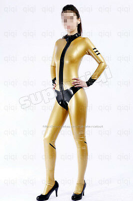 Latex/Rubber 0.45mm Catsuit Suit Costume Cosplay Shiny
