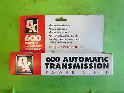 QX 600 QX600 QX-600 1 oz  Auto Transmission Additive Power Blend