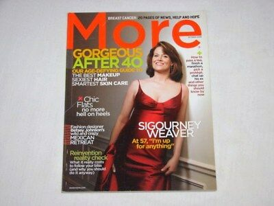 More Magazine After 40 Oct 2006 Sigourney Weaver Issue