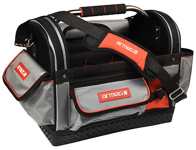 """NEW ARMEG 18"""" Heavy Duty Large Hand & Power Tool Tote Bag Storage Case DHTBAG001"""