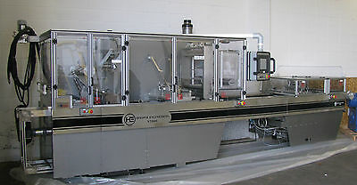 Stainless *Hooper Engineering* N2500S Form, Fill & Seal Cartridge Packaging Line