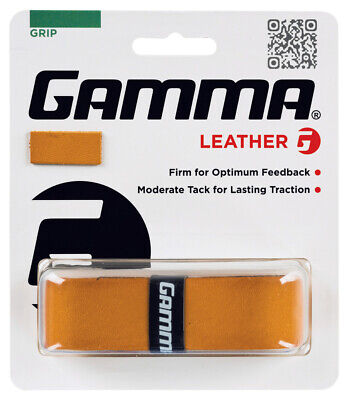 Gamma Leather Tennis Racquet Racket Replacement Grip
