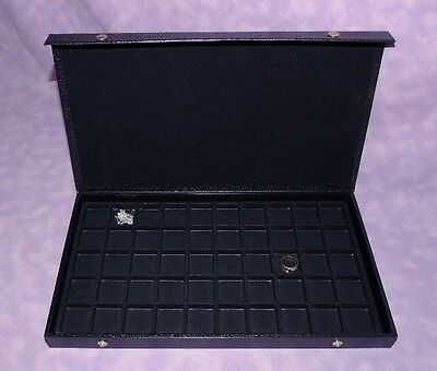 Earring/Jewelry 50 Slot Textured Top Jewelry Case