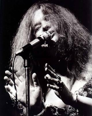 Janis Joplin *rare* 8X10 Glossy Music Concert Photo