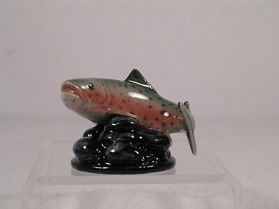 Northern Rose Porcelain 'Rainbow Trout' Miniature Figurine  #R290  NEW!