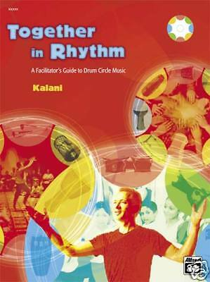 Together In Rhythm Guide To Drum Circle Percussion Music Book  Dvd