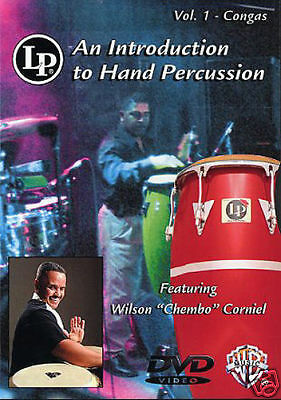 Learn How To Play Hand Percussion Congas Various Styles Dvd Tutor New