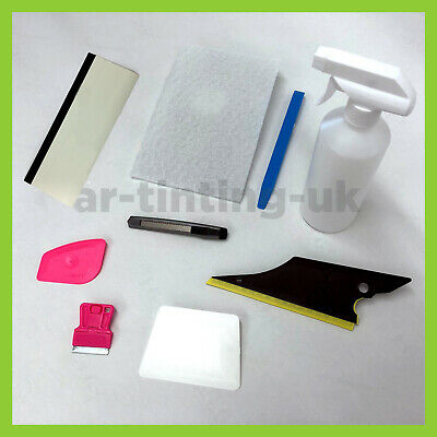 Semi-Pro Car Window Tint Fitting Kit - Tinting Tools