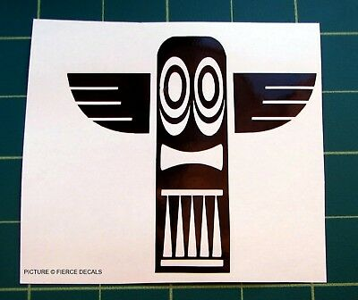 1 Tribal Totem Pole Snowboard Car Sticker Decal Graphic