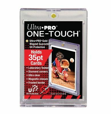 (20-Pack) Ultra Pro One Touch Magnetic Trading Card Holder 35pt w/ UV Protection