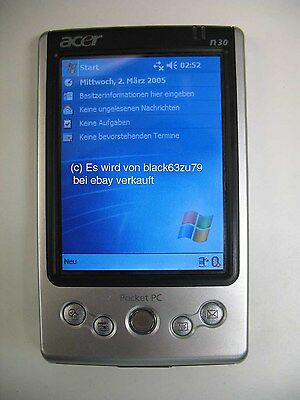 Acer N30 Poket PC PDA only Device without accessories, ohne Zubehör, Akku defekt