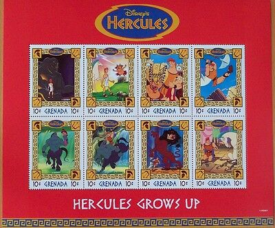 3 X Disney- Hercules 8  Mint Stamp Sheet.
