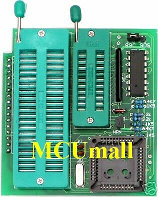 AT89  / 51AVR / MCS-51  adapter For Willem Programmer