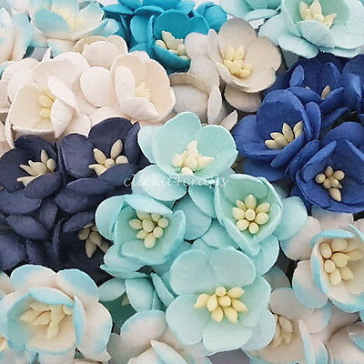 25 Paper Flowers Cherry Blossoms Decorations ZS3-607