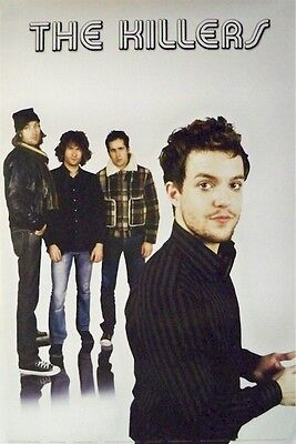 THE KILLERS ~ REFLECTION GROUP 24x36 MUSIC POSTER NEW/ROLLED!