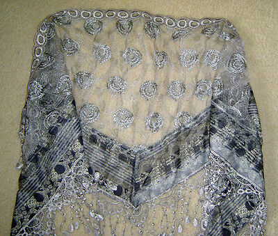 Gorgeous Lace Scarf - Grey