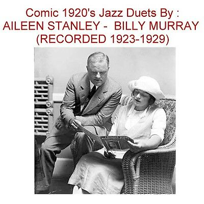 Billy Murray - Aileen Stanley - 1920s Comic Jazz Duets - New CD