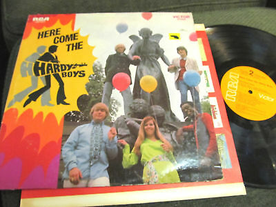 Here Comes the Hardy Boys LP RCA LPS-4217 1969 tv show! rare oop vinyl psychpop
