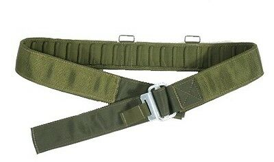 PLCE Issue Webbing Belt Olive With Roll Pin Buckle NEW
