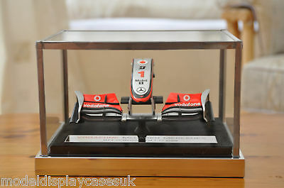 1:12 McLAREN MP4-25 NOSE CONE GLASS DISPLAY CASE ONLY