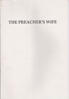 The Preachers Wife - Press Kit Production Notes