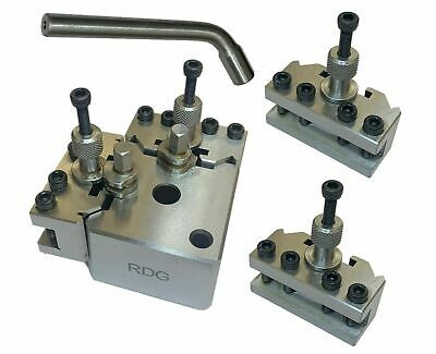 Rdgtools Quick Change Toolpost  For Myford Lathe