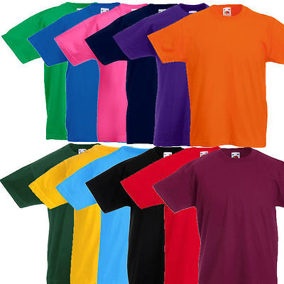 Fruit of the Loom Kinder T Shirt Kids T Shirts 104 116 128 140 152 164