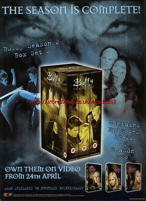 Buffy The Vampire Slayer S2 Pt2 Video Magazine Advert #608