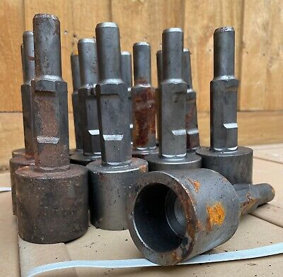 JACK HAMMER STAR PICKET FARM FENCE T POST DRIVER CHISEL JACKHAMMER 30mm Hex