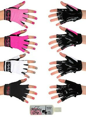Mighty Grip Powder & Pole Dance Fitness Gloves (1 pair)