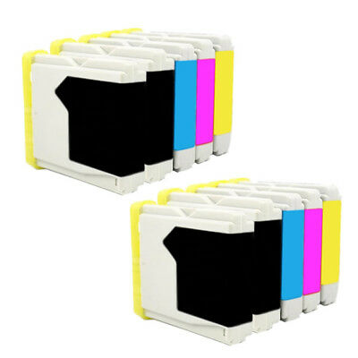 10 Compatible Brother Lc1000 Fax-2480C Dcp-130C Dcp-135C Dcp-150C Dcp-153C Lc970
