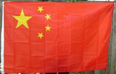 NEW 5 x 3 FOOT (150x90cm) CHINA CHINESE  FLAG