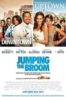 JUMPING THE BROOM - D/S Original Movie Poster One Sheet